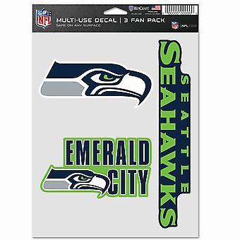 NFL Tarra Monikäyttösarja 3 20x15cm - Seattle Seahawks