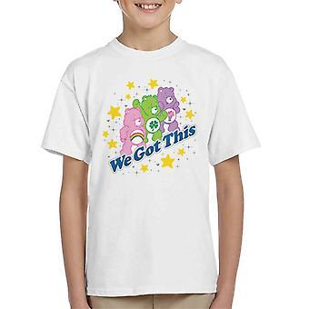 Care Bears Delen Bear We Got This Kid's T-Shirt