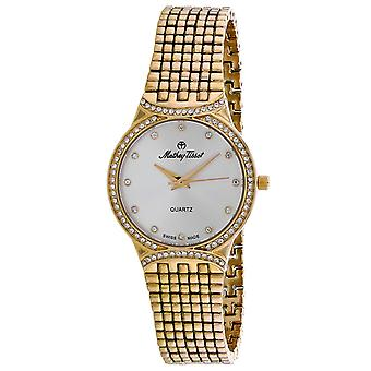 Mathey Tissot Mujer's Classic Silver Dial Watch - D2681PYI
