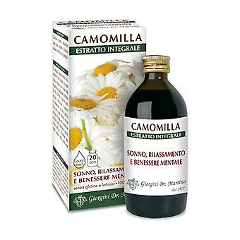 CAMOMILLA ESTR INTEGRALE 200ML None