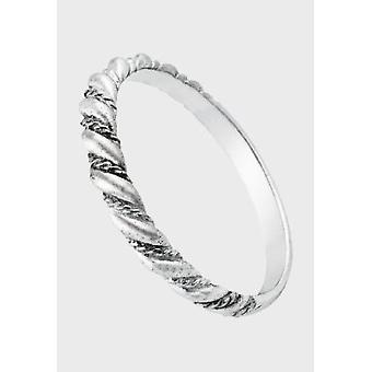 Kalevala Ring Women's Halikko Spiral Ring 14K White Gold 1401122225V Ring Width 71