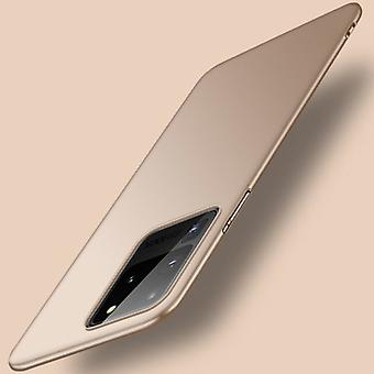 USLION Samsung Galaxy Note 10 Plus Magnetic Ultra Thin Case - Hard Matte Case Cover Gold