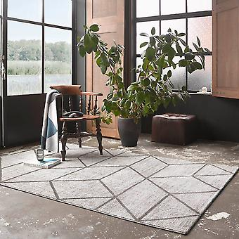 Weconhome Bossa Lounge Geometric Rugs 00333 096 In Taupe