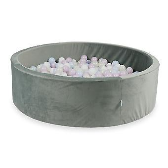 XXL Ball Pit Pool - Velvet Grey #11 + torba (200-700 kulek)
