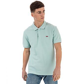 Men's Levis Original Batwing Polo Shirt in grün
