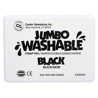Jumbo Washable Stamp Pad, Black