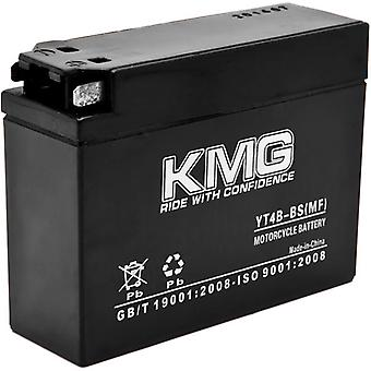 YT4B-BS Sealed Maintenance Free 12V Battery High Performance SMF OEM Replacement Powersport Motorcycle ATV Scooter Snowmobile Watercraft