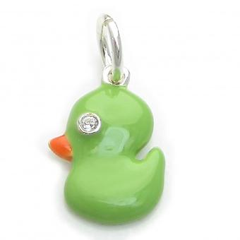 Duck Sterling Silver Charm .925 X 1 Eenden Charms - 6314