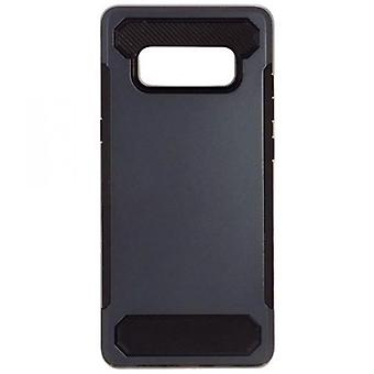 BOÎTIER PC/TPU AFTERMARKET POUR SAMSUNG GALAXY NOTE 8 - ROYAL BLUE/BLACK