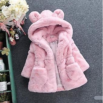 Winter Baby Capispalla Con cappuccio Parkas Infant Jackets Warm Cotton