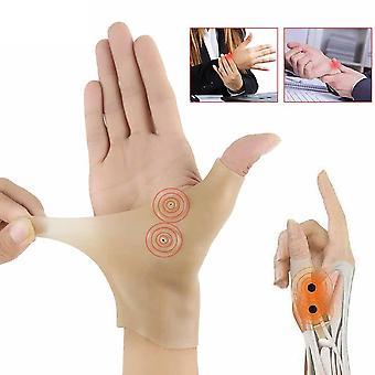 磁気治療手首手親指サポート手袋、シリコーンゲル、関節炎