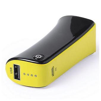 3-pack, Power Bank 2000mAh Yellow