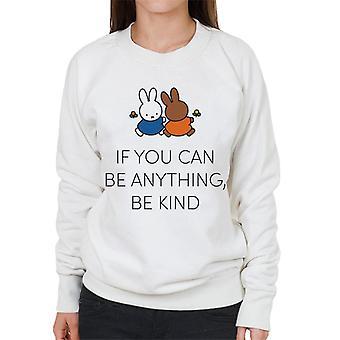 Nijntje Als Je Alles Kan Zijn Kind Vrouwen's Sweatshirt
