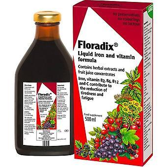 Floradix Liquid Iron Formule 500ml