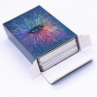 Deck Tarot Cards Diy Plating Visions Tarot Divination Fate Deck Board Game