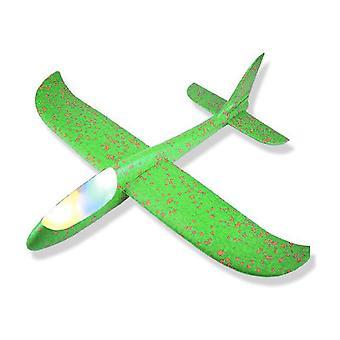 Lasten käsinheittovaahtoa hinaus lentokone
