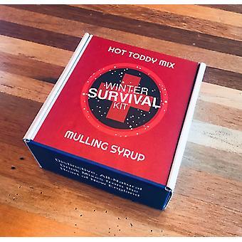 Vinter overlevelse Kit - En hver, 8 Fl Oz Hot Toddy & Mulling Sirup
