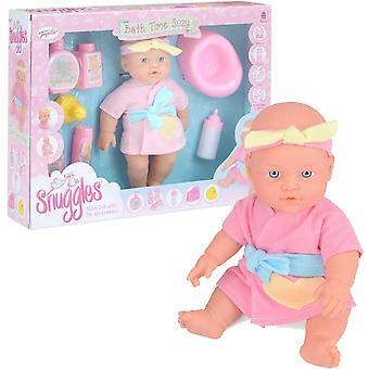Snuggles Baby Doll 31cm Bath Time Suzy