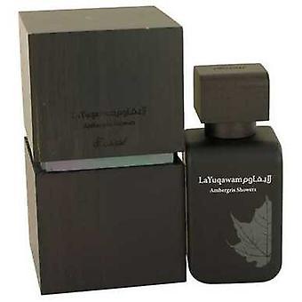 Ambergris Showers By Rasasi Eau De Parfum Spray 2.5 Oz (men) V728-538300