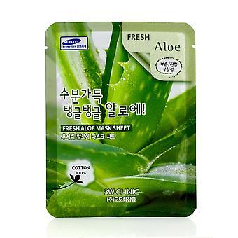 3W Clinic Mask Sheet - Fresh Aloe 10pcs