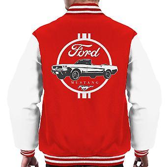 フォード マスタング クローム アイコン メン&アポ;s ヴァーシティジャケット