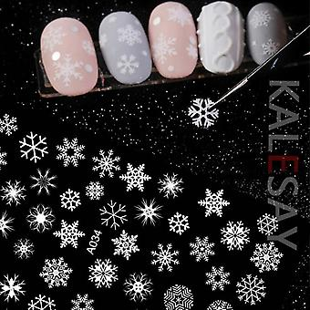 Merry Christmas Decals Decoration Self Adhesive Nail Art Stickers