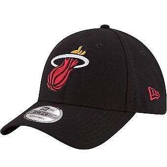 New Era Unisex Aikuiset Miami Heat Liigan NBA 9Forty Cap Hat - Musta