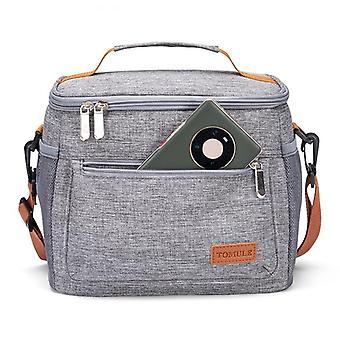 Portable Lunch Box, Thermal Cooler & Shoulder Handbag