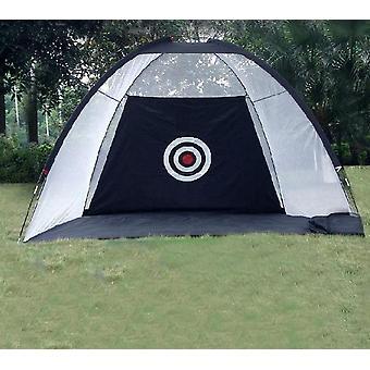 Golf Hitting Cage Garden Grassland Practice Tent Golf-training Equipment