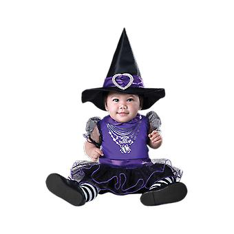 Girls Baby 6 - 24 Months Toddler Witch Halloween Fancy Dress Costume