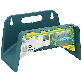 garden hose bracket wall plastic green