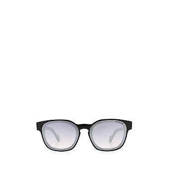 Moncler ML0086 gafas de sol unisex negras brillantes