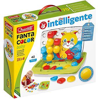 HanFei 4401 Pixel Baby-Steckspiel, farbspiel, Multicolor