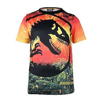 Jurassic World Girls Lava Logo T-Shirt