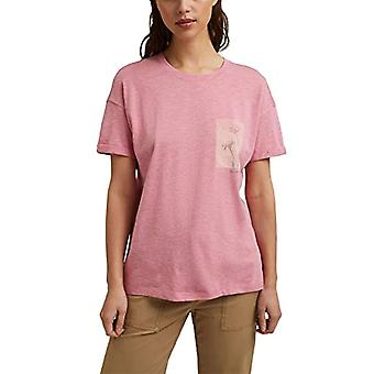ESPRIT 041EE1K367 T-paita, 674/PINK 5, X-Pieni Nainen