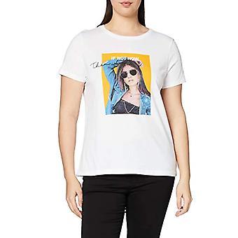 ONLY Carmakoma Carsilence SS Reg Tee T-Shirt, White (Bright White Bright White), Large (Size Manufacturer: L-50/52) Woman