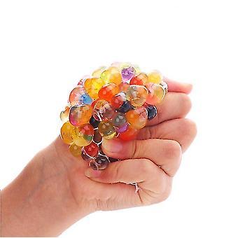 العنب المضادة للإجهاد اسفنجي متعدد الألوان تخفيف الضغط تنفيس الكرة العنب الضغط ديناصور الفرخ لعبة dt5197