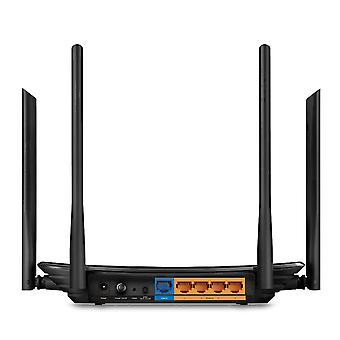 TP-LINK Archer C6 AC1200 Wireless MU-MIMO Gigabit Cable Router 4 Gigabit LAN Ports Supports Access Point Mode, UK Plug