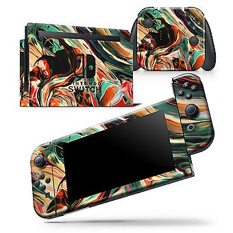 Blurred Abstract Flow V60 - Skin Wrap Decal For Nintendo Switch Lite
