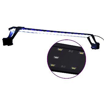 vidaXL LED-Aquariumleuchte mit Klemmen 75-90 cm Blau und Weiß