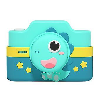WIFI kreslený dětský digitální fotoaparát, 4800W HD duální fotoaparát (zelený)