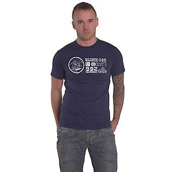 Blink 182 T Shirt International Cali 992 Band Logo new Official Mens Black