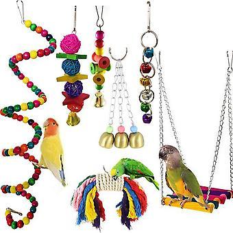 Papageienvögel Spielzeugglocken
