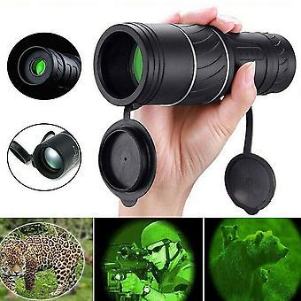 40x60 Mini HD monokulární dalekohled Černé noční vidění Jednoostředkové optické čočky UK