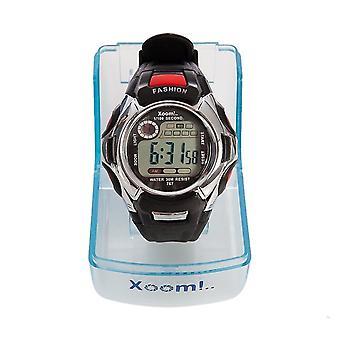 Xoom Digital Wrist Watch, Silicone Cord,  Illuminated Display, Unisex Wrist Watch, Sports Wrist Watch, Water Resistant,