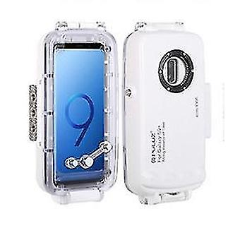 Samsung s9 diving shell waterproof case(S9 White)