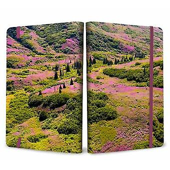 Refuge: Purple Fireweed Softcover Notebook