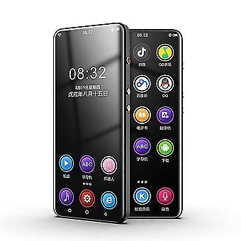 Wifi Android Bluetooth 5.0 Reproductor de Mp3 con Fm, E-book, Grabadora de vídeo (Negro)