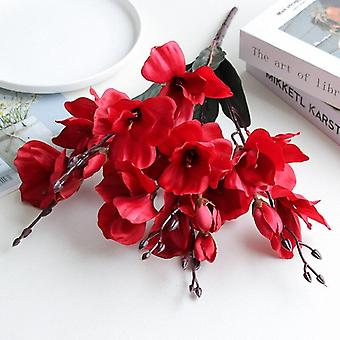 5 Forks 20 heads tangpu simulation bouquet magnolia home decoration flower photography props flower wedding