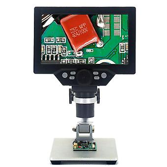 G1200 Digital Microscope Electronic Video Microscope 4.3 Inch Hd Lcd Soldering Microscope Phone Repair Magnifier With Stand